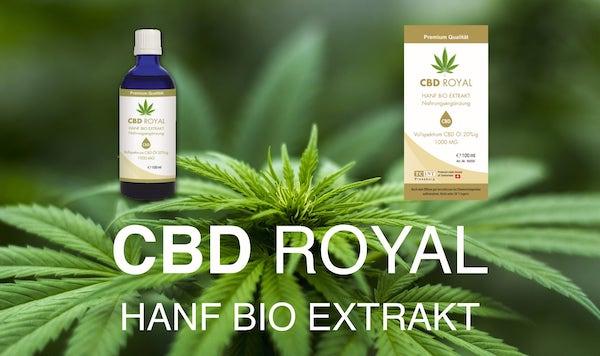CBD ROYAL Hanf Bio Extrakt